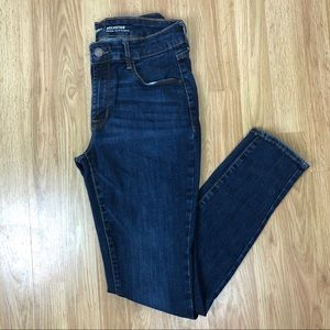 Old Navy Mid-Rise Skinny Rockstar Jeans